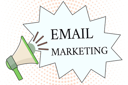 Word writing text Email Marketing. Business concept for Sending a commercial message to a group of people using mail.