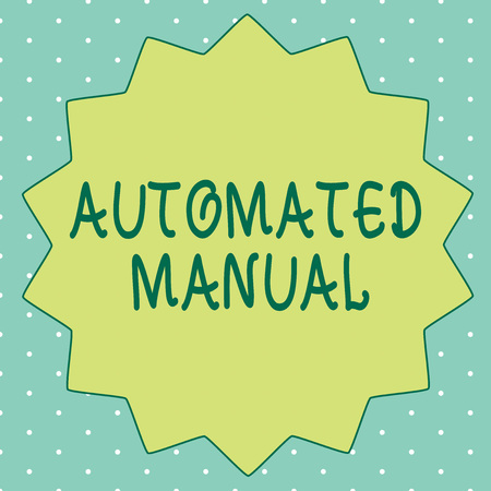 Handwriting text writing Automated Manual. Concept meaning as trigger shift and it can switch between moods easily.