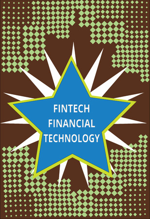 Conceptual hand writing showing Fintech Financial Technology. Business photo text provide Monetary Service using New Technique. Stok Fotoğraf