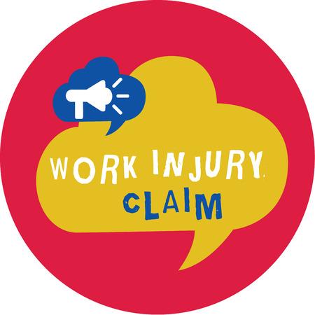 Writing note showing Work Injury Claim. Business photo showcasing Medical care reimbursement Employee compensation.
