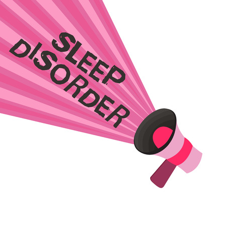 Text sign showing Sleep Disorder. Conceptual photo problems with the quality, timing and amount of sleep. 免版税图像