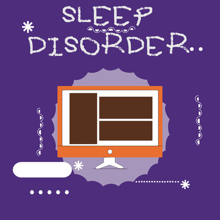 Writing note showing Sleep Disorder. Business photo showcasing problems with the quality, timing and amount of sleep.
