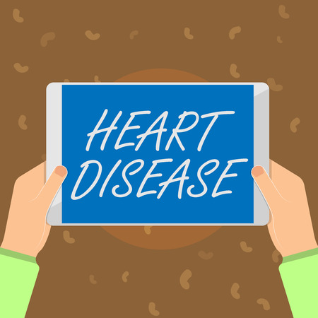 Conceptual hand writing showing Heart Disease. Business photo text Heart disorder Conditions that involve blocked blood vessels.