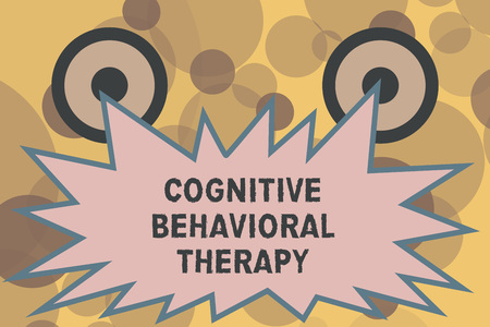 Text sign showing Cognitive Behavioral Therapy. Conceptual photo Psychological treatment for mental disorders.