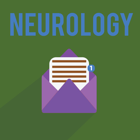 Conceptual hand writing showing Neurology. Business photo text Branch of medicine dealing with disorders of the nervous system.