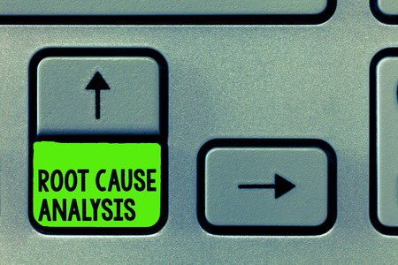 Word writing text Root Cause Analysis. Business concept for Method of Problem Solving Identify Fault or Problem. Stock Photo