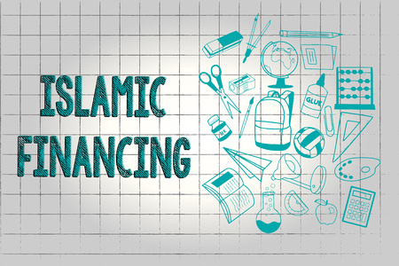 Text sign showing Islamic Financing. Conceptual photo Banking activity and investment that complies with sharia.
