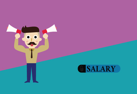 Text sign showing Salary. Conceptual photo fixed regular payment typically paid monthly basis for fixed period. Banco de Imagens - 111228509