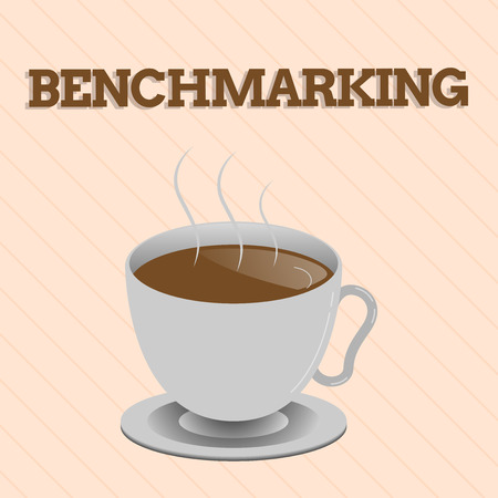 Word writing text Benchmarking. Business concept for Evaluate something by comparison with a standard Strategy.