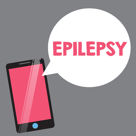 Text sign showing Epilepsy. Conceptual photo Fourth most common neurological disorder Unpredictable seizures. 版權商用圖片