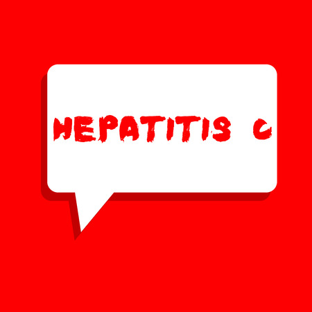 Word writing text Hepatitis C. Business concept for Inflammation of the liver due to a viral infection Liver disease.