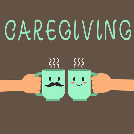 Word writing text Caregiving. Business concept for Act of providing unpaid assistance help aid support Senior care.