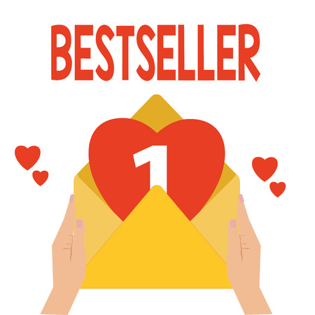 Word writing text Bestseller. Business concept for Book product sold in large numbers Successful literature.