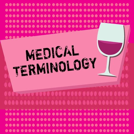 Text sign showing Medical Terminology. Conceptual photo language used to precisely describe the huanalysis body.