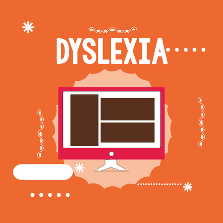 Conceptual hand writing showing Dyslexia. Business photo showcasing Disorders that involve difficulty in learning to read and improve.