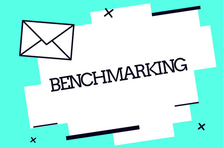 Handwriting text Benchmarking. Concept meaning Evaluate something by comparison with a standard Strategy.