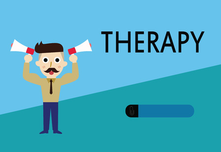 Word writing text Therapy. Business concept for Treatment intended to relieve or heal a disorder Healthcare.