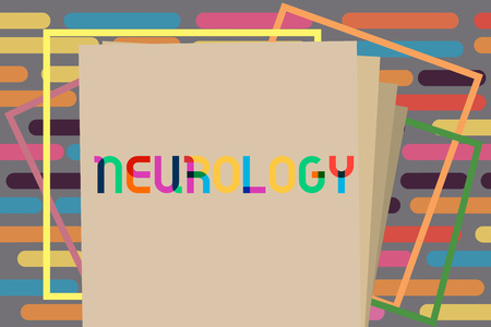 Text sign showing Neurology. Conceptual photo branch of medicine dealing with disorders of the nervous system.