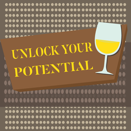 Conceptual hand writing showing Unlock Your Potential question. Business photo text Maximize your Ability Use God given gift.