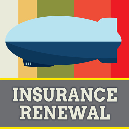 Word writing text Insurance Renewal. Business concept for Protection from financial loss Continue the agreement.