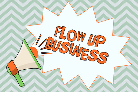Writing note showing  Flow Up Business. Business photo showcasing money that is moving in and out of your companies. Stok Fotoğraf