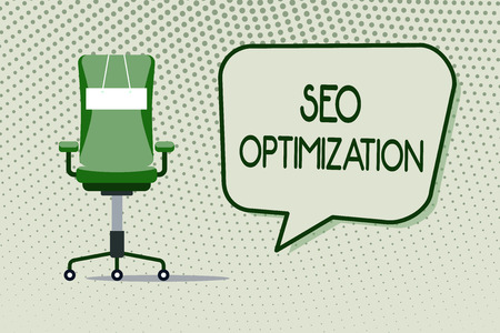 Conceptual hand writing showing Seo Optimization. Business photo showcasing process of affecting online visibility of website or page.