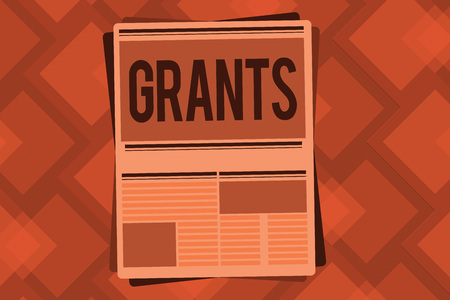 Conceptual hand writing showing Grants. Business photo text agree to give or allow something requested someone Authorize action. Stock Photo