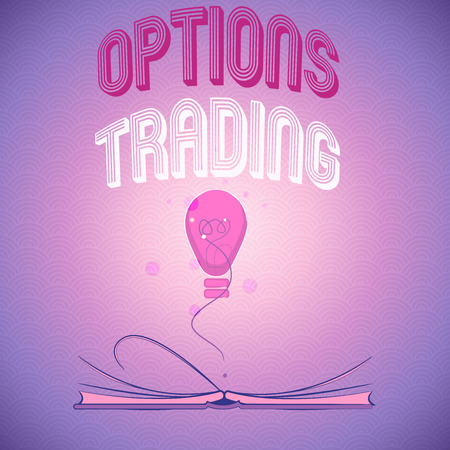 Handwriting text writing Options Trading. Concept meaning Different options to make goods or services spread worldwide. Stok Fotoğraf
