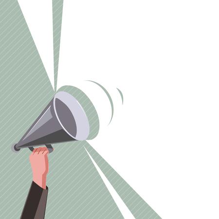 Concept d'illustration vectorielle d'affaires design plat. Annonce commerciale pour le site Web et les bannières de promotion. espace de copie de médias sociaux vide pour vos propres textes Modèle d'art en particulier promotion isolée Service Vecteurs