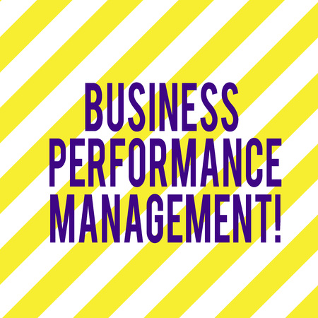 Word writing text Business Perforanalysisce Management. Business concept for setting and monitoring corporate goals Diagonal Twotone Lines photo Forming Triangular Shape Blank Copy Space Stock Photo