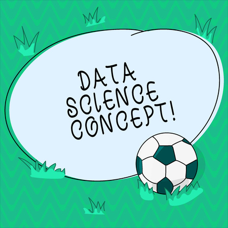 Word writing text Data Science Concept  Business concept for