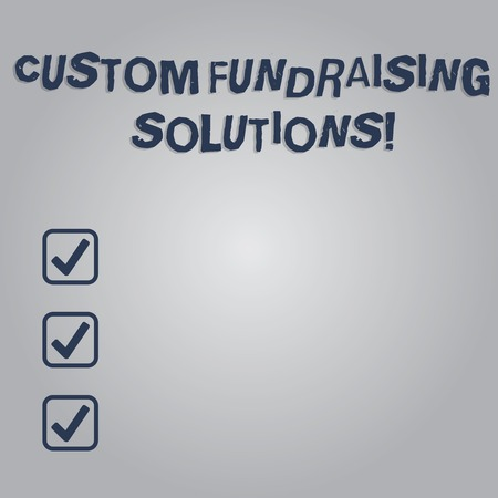 Writing note showing Custom Fundraising Solutions. Business photo showcasing software to help raising money online Blank Color Rectangular Shape with Round Light Beam Glowing in Center