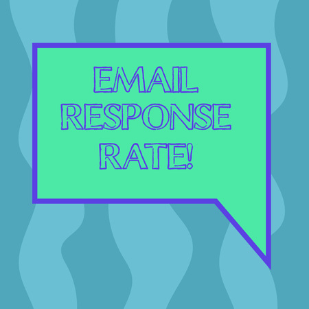 Conceptual hand writing showing Email Response Rate. Business photo showcasing percentage showing saw something then completed action Blank Deformed Color Round Shape with Small Circles