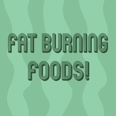 Handwriting text writing Fat Burning Foods. Concept meaning Certain types of food burn calories as you chew them Vertical Curvy Strips Abstract Shape photo in Seamless Repeat Pattern Archivio Fotografico