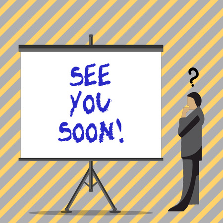 See You Soon Stock Photos And Images 123rf