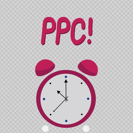 Word writing text Ppc. Business concept for Pay Per Click Advertising Strategies Direct Traffic to Websites