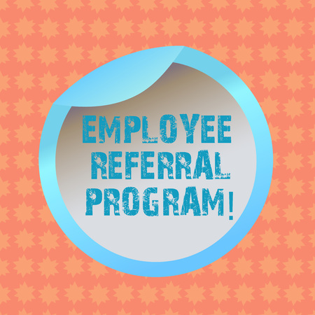 Writing note showing Employee Referral Program. Business photo showcasing strategy work encourage employers through prizes Bottle Packaging Lid Carton Container Easy to Open Cover