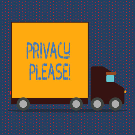 Word writing text Privacy Please. Business concept for Let us Be Quiet Rest Relaxed Do not Disturb