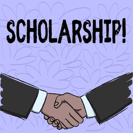 Conceptual hand writing showing Scholarship. Business photo text Grant or Payment made to support education Academic Study
