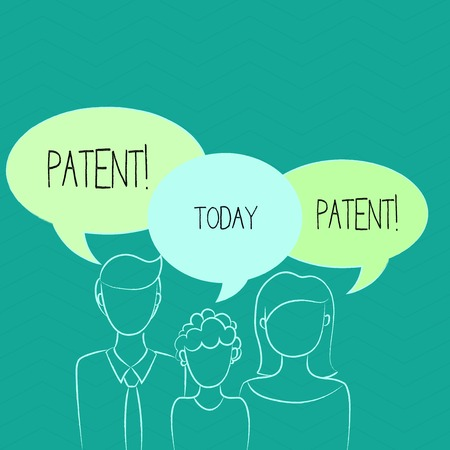Word writing text Patent. Business concept for License that gives rights for using selling making a product