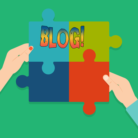 Word writing text Blog. Business concept for Preperation of catchy content for blogging websites