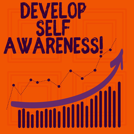 Word writing text Develop Self Awareness. Business concept for improve your Informations about surrounding events