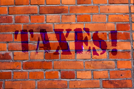 Text sign showing Taxes. Business photo text Money deanalysisded by a government for its support Brick Wall art like Graffiti motivational call written on the wall