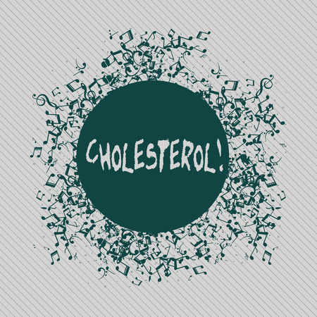 Conceptual hand writing showing Cholesterol. Concept meaning Low Density Lipoprotein High Density Lipoprotein Fat Overweight