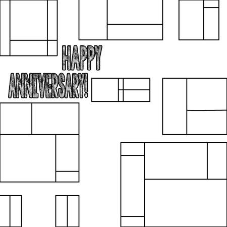 Handwriting text Happy Anniversary. Conceptual photo Annual Special Milestone Commemoration Stok Fotoğraf