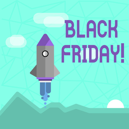 Writing note showing Black Friday. Business concept for Special sales after Thanksgiving Shopping discounts Clearance Stock Photo