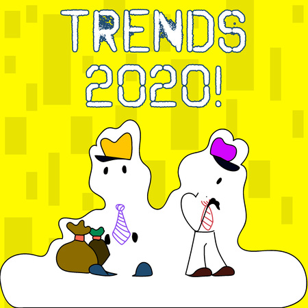 Fiction Trends 2020.Handwriting Text Writing Trends 2020 Conceptual Photo General