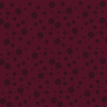 Seamless Maroon Circles Spots in Different Sizes Scattered in Random Pattern Design business concept Empty copy text for Web banners promotional material mock up template 矢量图像