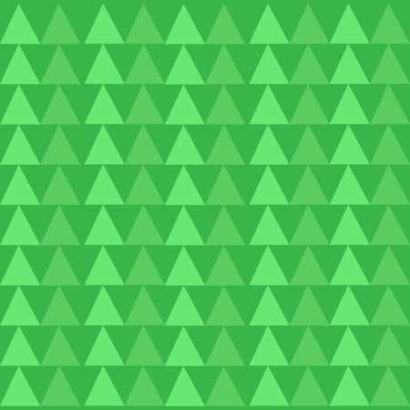Green Triangles Pattern in Endless Rows like Small Trees in Abstract Shape Design business concept Empty copy text for Web banners promotional material mock up template. 矢量图像
