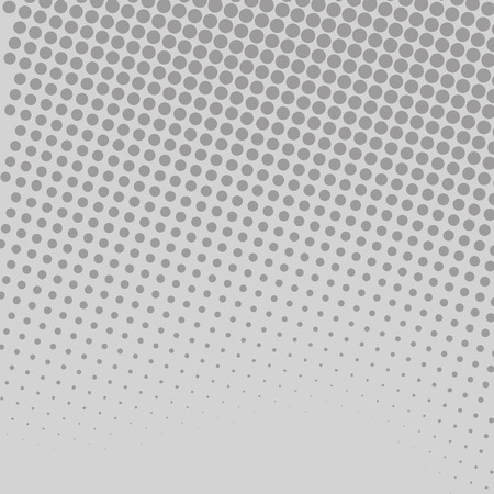 Halftone in Varied Sized Dots that Simulates Imagination of Continuous Tone Design business concept Empty copy space modern abstract background